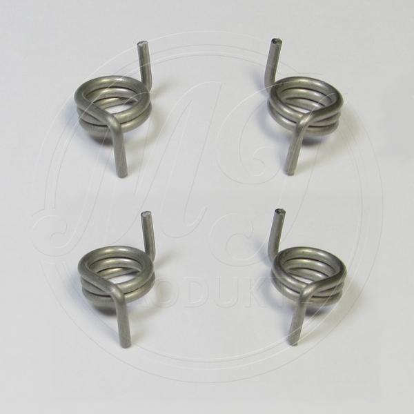 4 Stück Reparatursatz Türschloss Federn W203 W209 W211